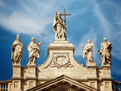 Trzy wielkie bazyliki: Lateran, Maggiore, Santa Croce