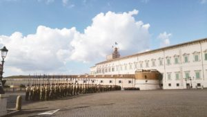 Rzym zabytki - Pałac na Kwirynale - fasada