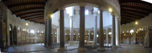 Rzym wycieczka Celio - kościół św. Szczepana - wnętrze