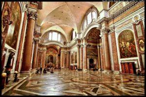 Rzym zabytki - bazylika Santa Maria degli Angeli