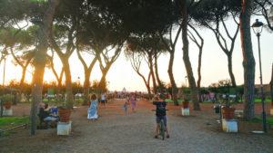 Rzym - ogród pomarańczowy na Awentynie