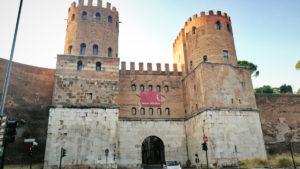 Rzym - brama św. Sebastiana