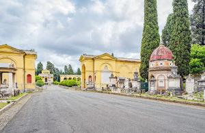 Rzym - cmentarz monumentalny Campo Verano