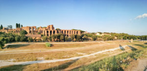 Rzym - panorama Cyrku Wielkiego i Palatynu