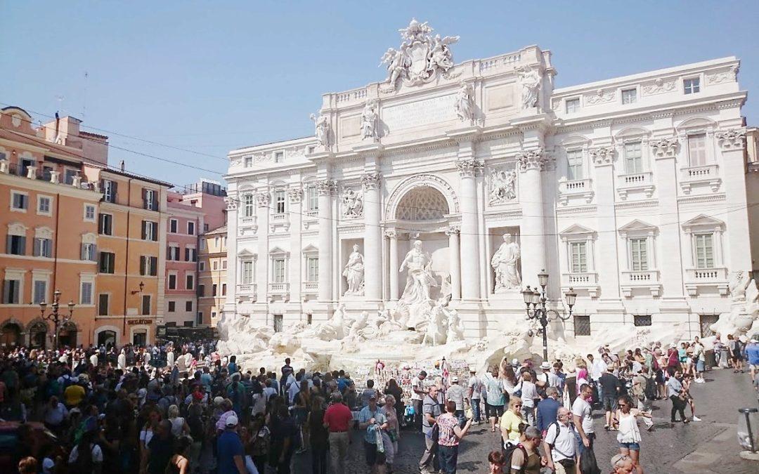 Rzym barokowy od Zamku Anioła do placu Hiszpańskiego