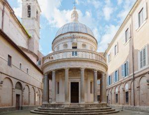 Rzym - wzgórze Ganicolo - Tempietto Bramantego