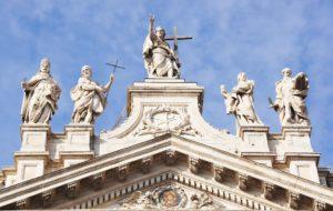 Rzym - bazylika Świętego Jana na Lateranie - fasada