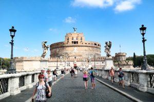 Rzym zabytki - Most Anioła