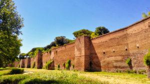 Rzym - Mury Aureliańskie