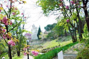 Rzym - Zatybrze - Ogród Botaniczny