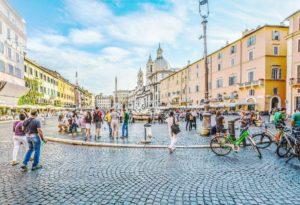 Rzym barokowy - Plac Navona