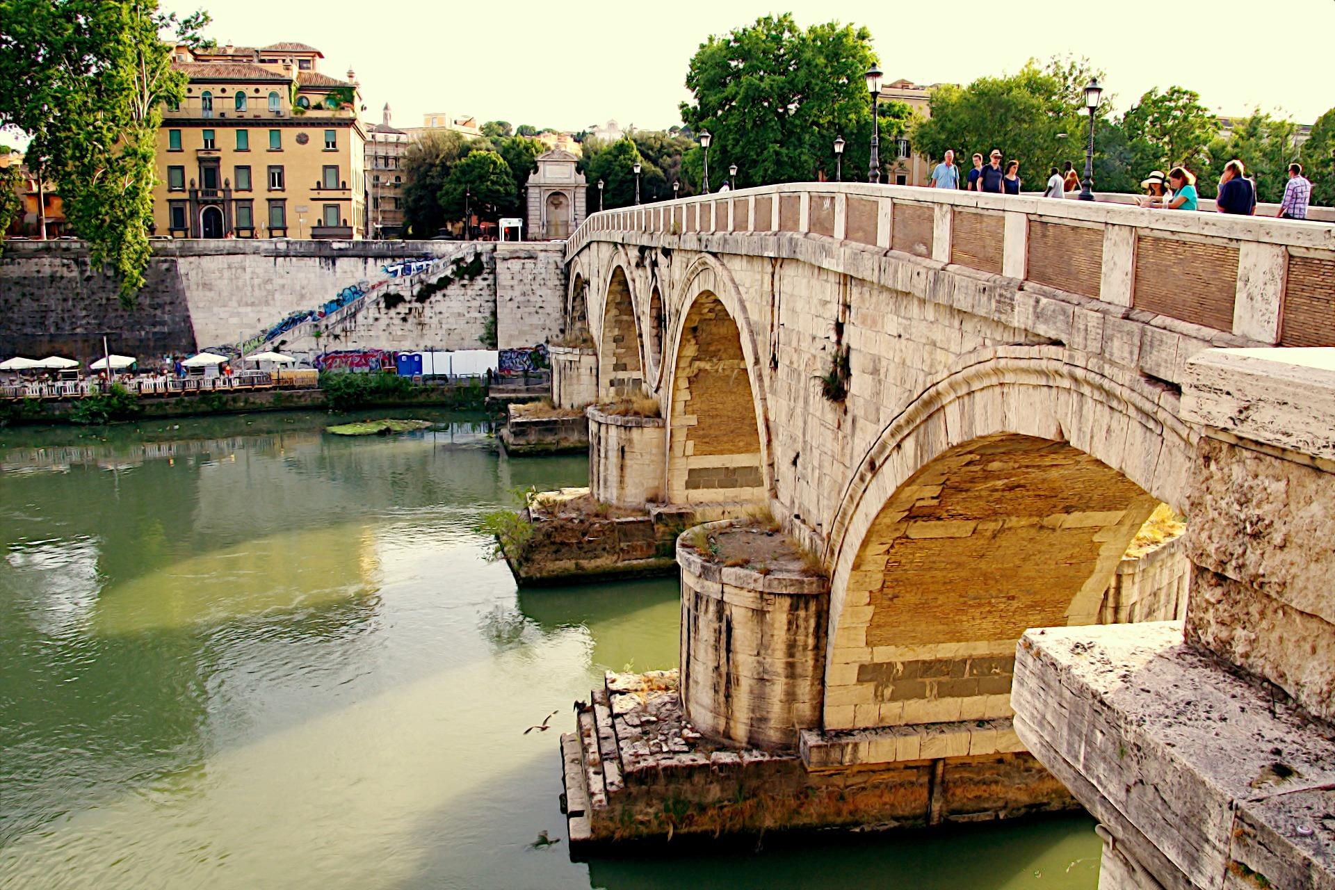 Rzym - Most Sykstyński (Ponte Sisto)