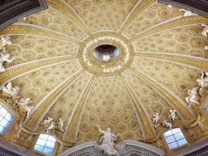 Rzym - kościół św. Andrzeja na Kwirynale - kopuła